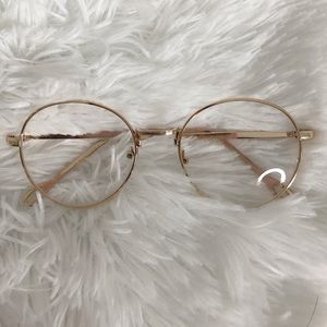 Gold rim glasses - NEW